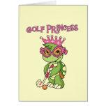 Golf Princess T-shirts and Gifts Card