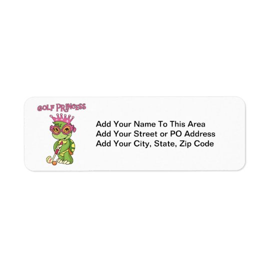 Golf Princess T-shirts and Gifts Label