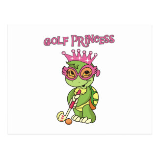 Golf Princess T-shirts and Gifts Postcard