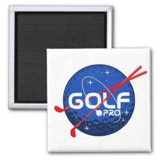 Golf Pro 2 Inch Square Magnet