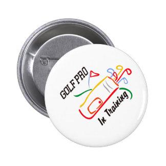 Golf Pro 2 Inch Round Button