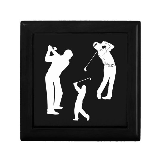 Golf Pro Jewelry Box