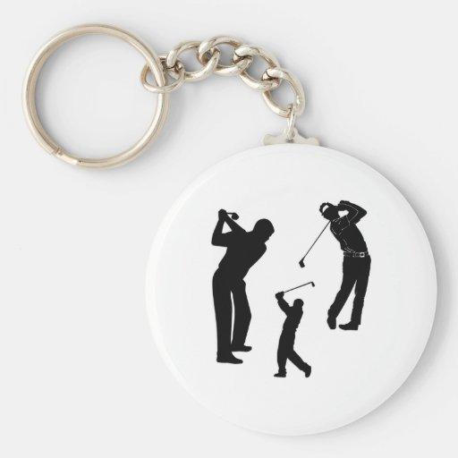 Golf Pro Keychain