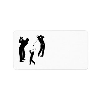 Golf Pro Personalized Address Labels