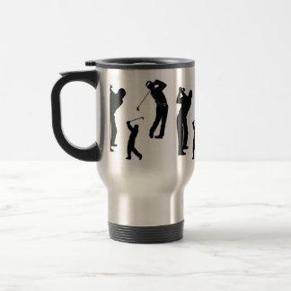 Golf Pro 15 Oz Stainless Steel Travel Mug