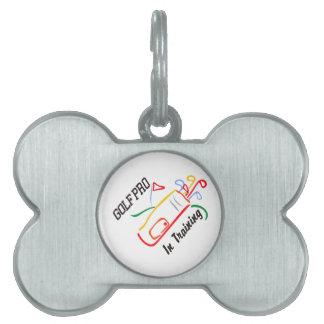 Golf Pro Pet ID Tag