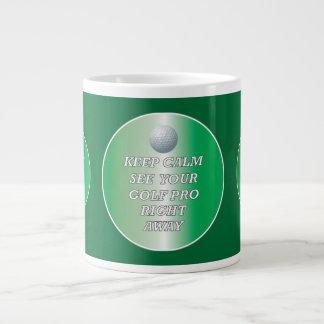 Golf Pro Stay Calm Mug