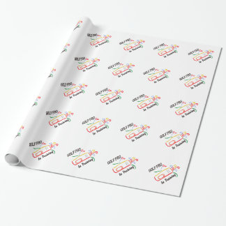 Golf Pro Wrapping Paper
