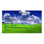Golf  Profile Card Business Card Templates