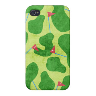 Golf Putt Greens Iphone Case for the Girly Golfer