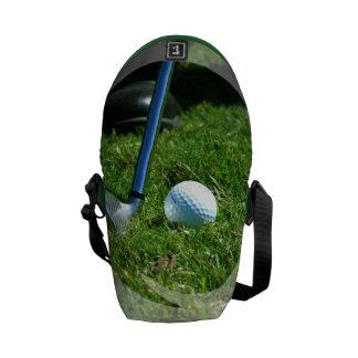Golf Putt Messenger Bag