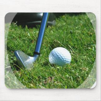 Golf Putt Mouse Pad