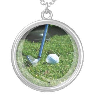 Golf Putt Necklace