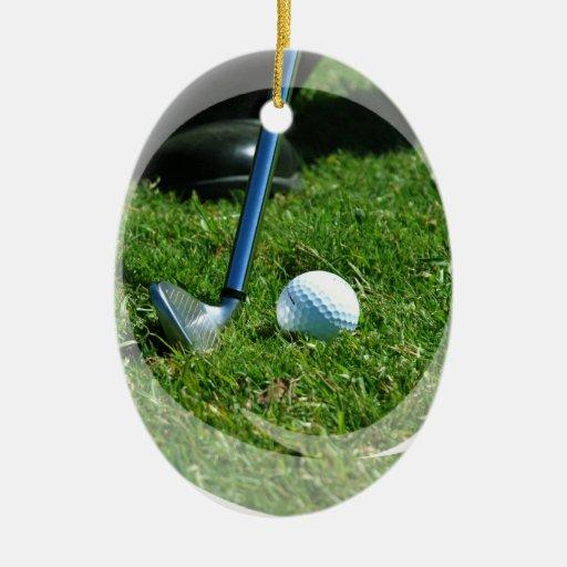 Golf Putt Ornament