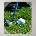Golf Putt Poster