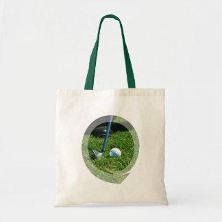 Golf Putt Small Canvas Bag