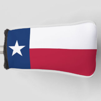 Golf Putter Cover with Flag of Texas, USA