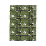 Golf Putter Fleece Blanket