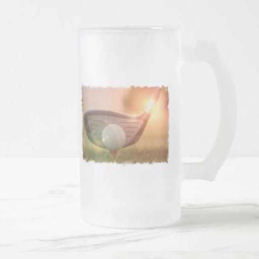 Golf Putter Frosted Mug