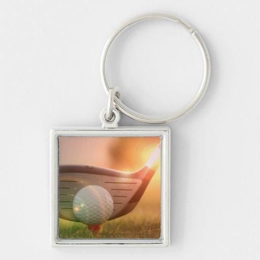 Golf Putter Keychain
