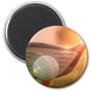 Golf Putter Magnet Refrigerator Magnet