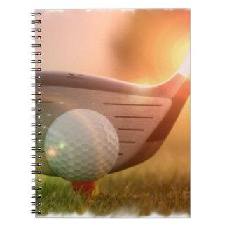 Golf Putter  Notebook