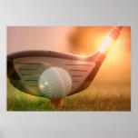 Golf Putter Poster Print