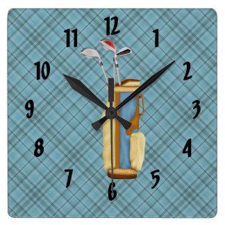 Golf Reloj Cuadrado