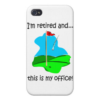 golf retirement cover for iPhone 4