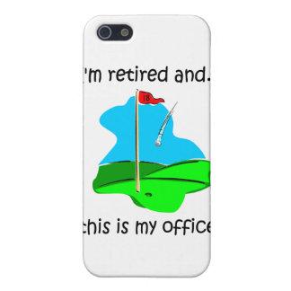 golf retirement iPhone SE/5/5s case