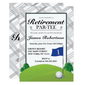 Retirement Party - Golf Retirement Party Invitations