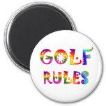 Golf Rules Fridge Magnets