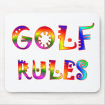Golf Rules Mouse Pad