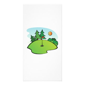 Golf Scene Card