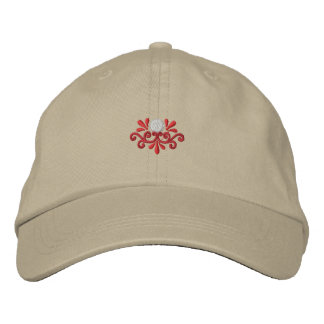 Golf Scroll Embroidered Baseball Hat