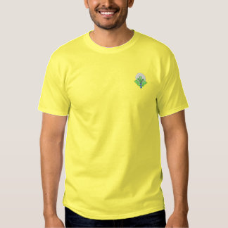 Golf Scroll Embroidered T-Shirt