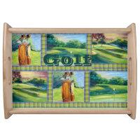 Golf Serving Tray