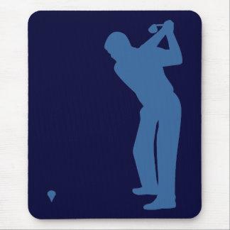 Golf Silhouette Mousepad Mousepad