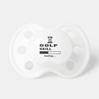 Golf skill Loading...... Pacifier