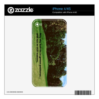 Golf Skins For iPhone 4S
