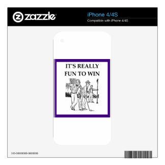 golf skins para iPhone 4