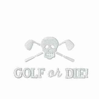 Golf Skull Bad Boys - Golf or Die - Golf Shirt embroideredshirt