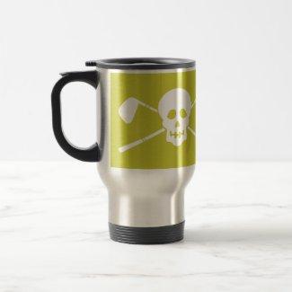 Golf - Skull - Mean Greens Golf Machine Mug mug