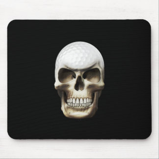 Golf Skull Mouse Pad
