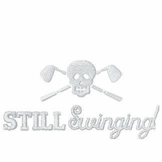 Golf Skull - Still Swinging - League Jacket