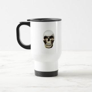 Golf Skull Travel Mug
