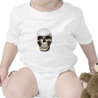 Golf Skull Baby Creeper