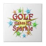 Golf Sparkles Tile