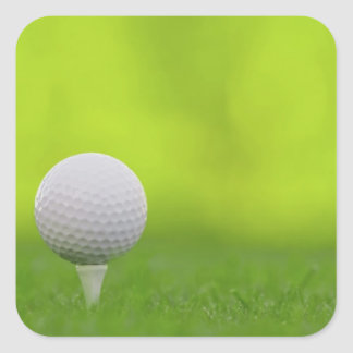 Golf Square Sticker
