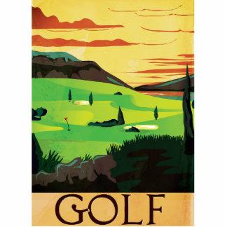 Golf Statuette